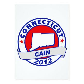"""Caín - Connecticut Invitación 5"""" X 7"""""""