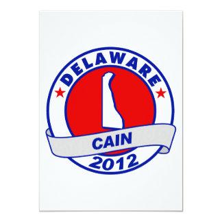 Cain - Delaware Custom Announcement