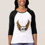 Cain Falcon Wings Gold T-shirts