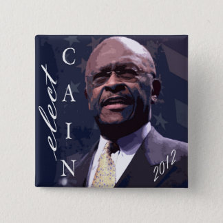 Cain for President 2012 Pinback Button