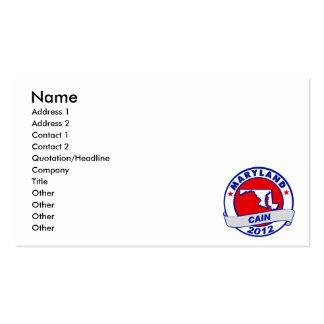 Cain - Maryland Business Card