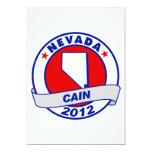 """Cain - Nevada 5"""" X 7"""" Invitation Card"""