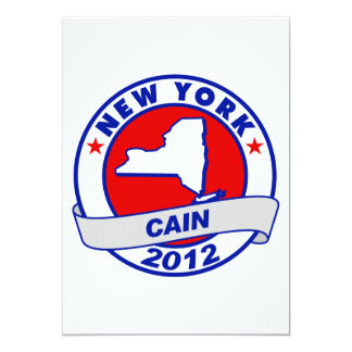 Cain - New York Personalized Invitations