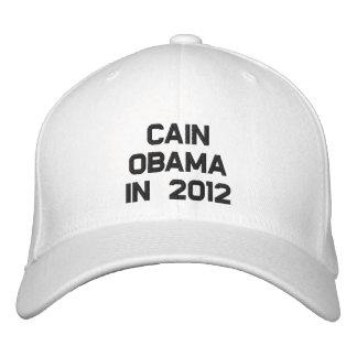 CAIN OBAMA IN 2012 CAP