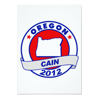 """Caín - Oregon Invitación 5"""" X 7"""""""