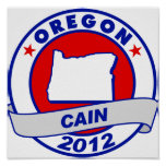 Cain - Oregon Posters