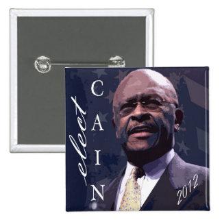 Caín para el presidente 2012 pin