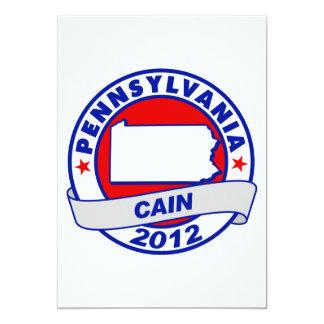 Cain - Pennsylvania Invitation