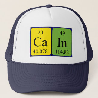 Cain periodic table name hat