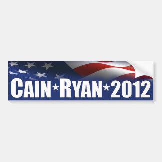 Cain Ryan 2012 Bumper Sticker