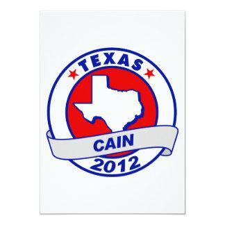 Cain - Texas Custom Announcements