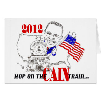 CAIN TRAIN CARD