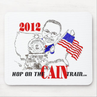 CAIN TRAIN MOUSE PAD
