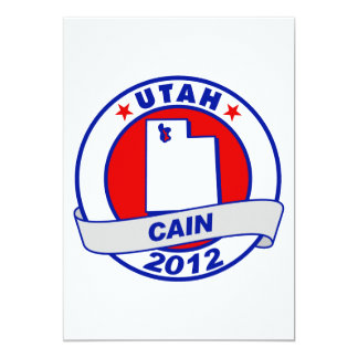 Cain - Utah Personalized Invitation