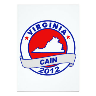 Cain - Virginia Invitations