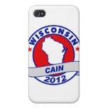 Caín - Wisconsin iPhone 4 Carcasas