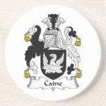 Caine Family Crest Coaster