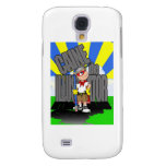 Caine The Illustrator Logo 1 Galaxy S4 Cover