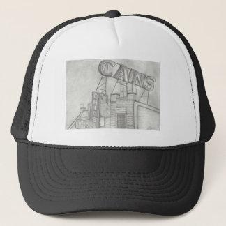 Cain's Trucker Hat(Black and White) Trucker Hat