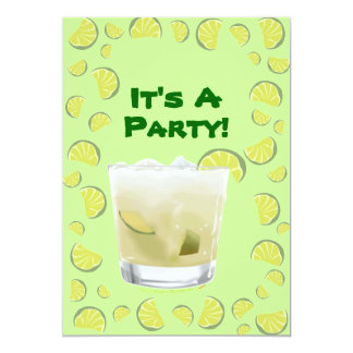 Caipirihna Cocktail Party Invitation Template