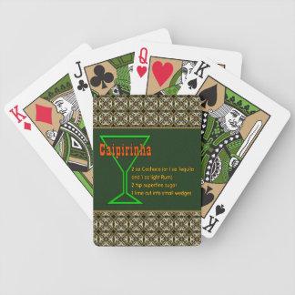 Caipirinha Bicycle Playing Cards