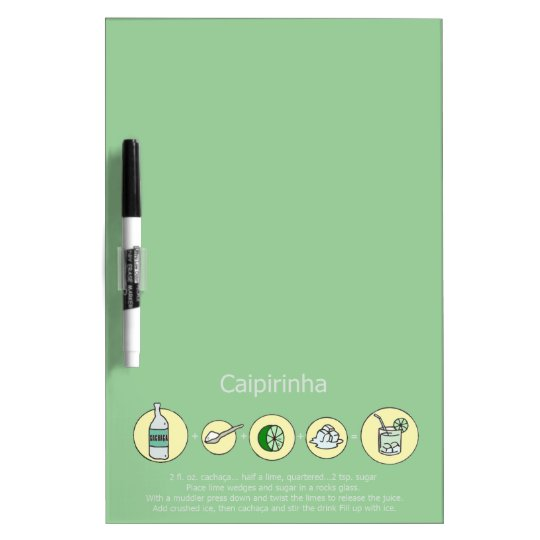 caipirinha, brazilian drink Dry-Erase board