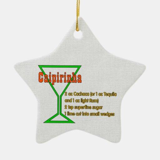 Caipirinha Christmas Tree Ornament