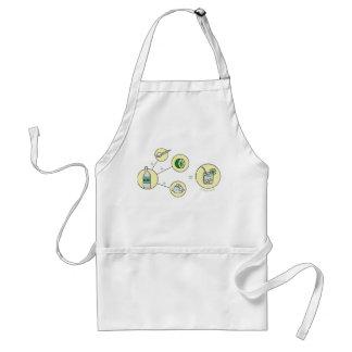caipirinha gift idea adult apron
