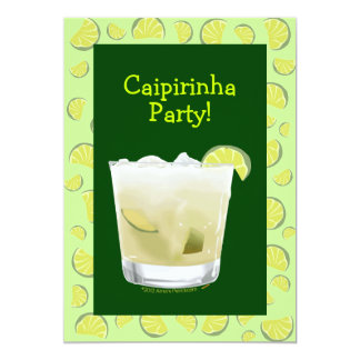 Caipirinha Party Coctail Party Invitation Template