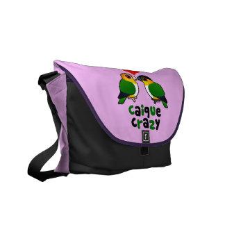 Caique Crazy Messenger Bag