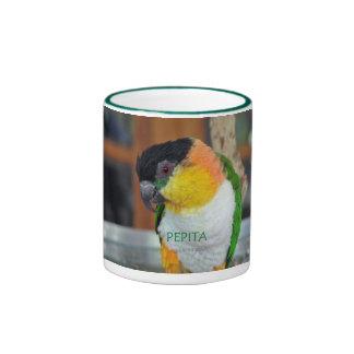 Caique Crazy! Ringer Coffee Mug