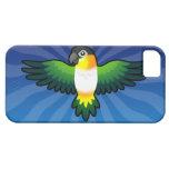 Caique/Lovebird/Pionus/loro del dibujo animado iPhone 5 Protector