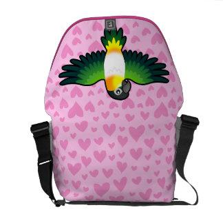 Caique / Lovebird / Pionus / Parrot Love Commuter Bags