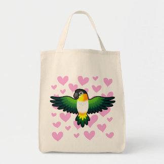 Caique / Lovebird / Pionus / Parrot Love Tote Bag