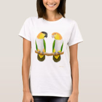 Caique Parrot Love Fitted Baby Doll Shirt