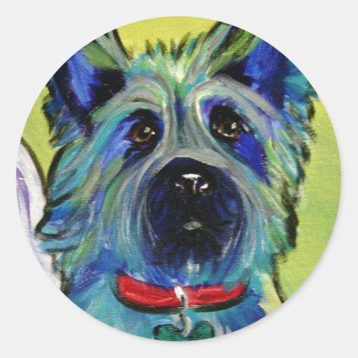 Cairn #1 classic round sticker