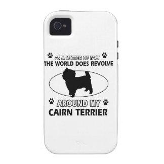 cairn dog design iPhone 4 cases