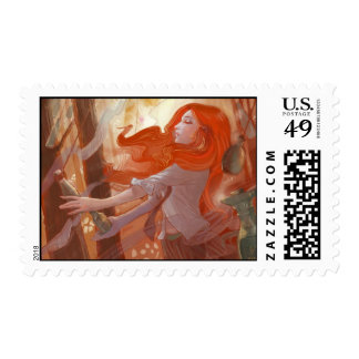 Cairn in the Woods Postage Stamp