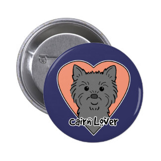 Cairn Lover Pinback Button