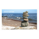 Cairn Meditation Stones Double-Sided Standard Business Cards (Pack Of 100)