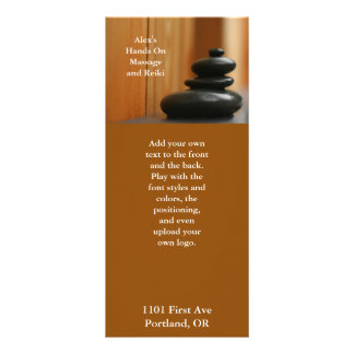 Cairn Meditation Stones Rack Card