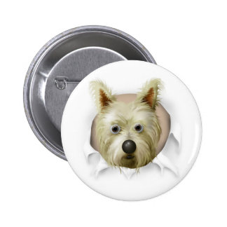 Cairn Terrier 1 Busting Out Pin
