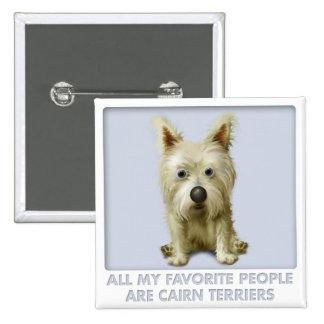 Cairn Terrier 1 Favorite Button