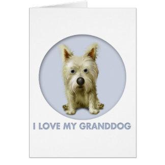 Cairn Terrier 1 Granddog Card