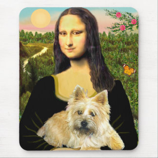 Cairn Terrier 23 - Mona Lisa Mouse Pad