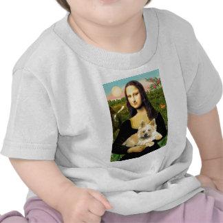 Cairn Terrier 23 - Mona Lisa T-shirts