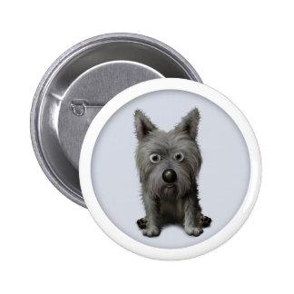 Cairn Terrier 2 Button