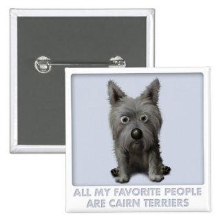 Cairn Terrier 2 Favorite Pin
