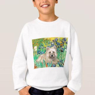 Cairn Terrier 4 - Irises Sweatshirt