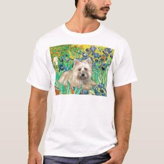 Cairn Terrier 4 - Irises T-Shirt
